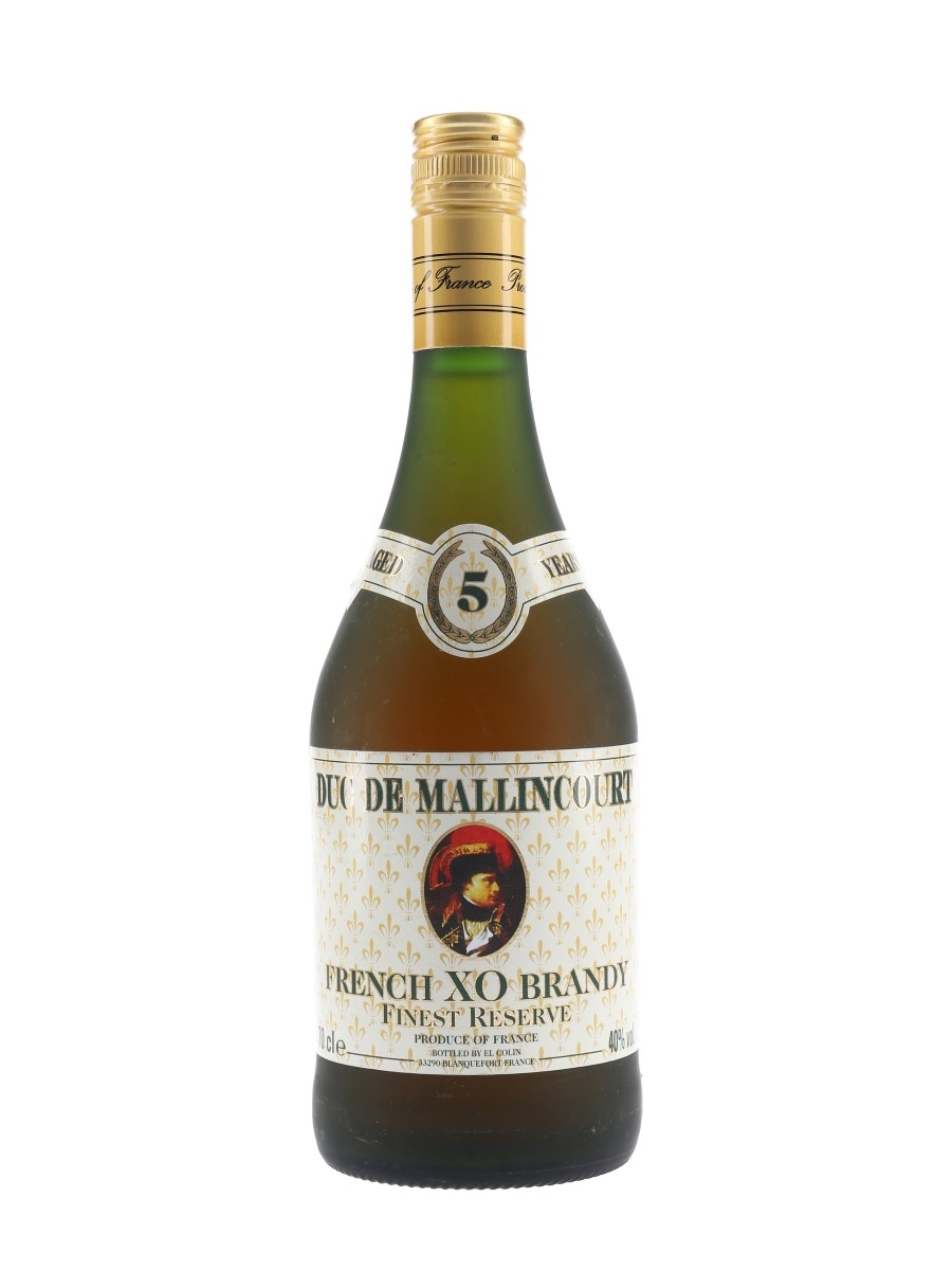 Duc De Mallincourt 5 Year Old XO Finest Reserve 70cl / 40%