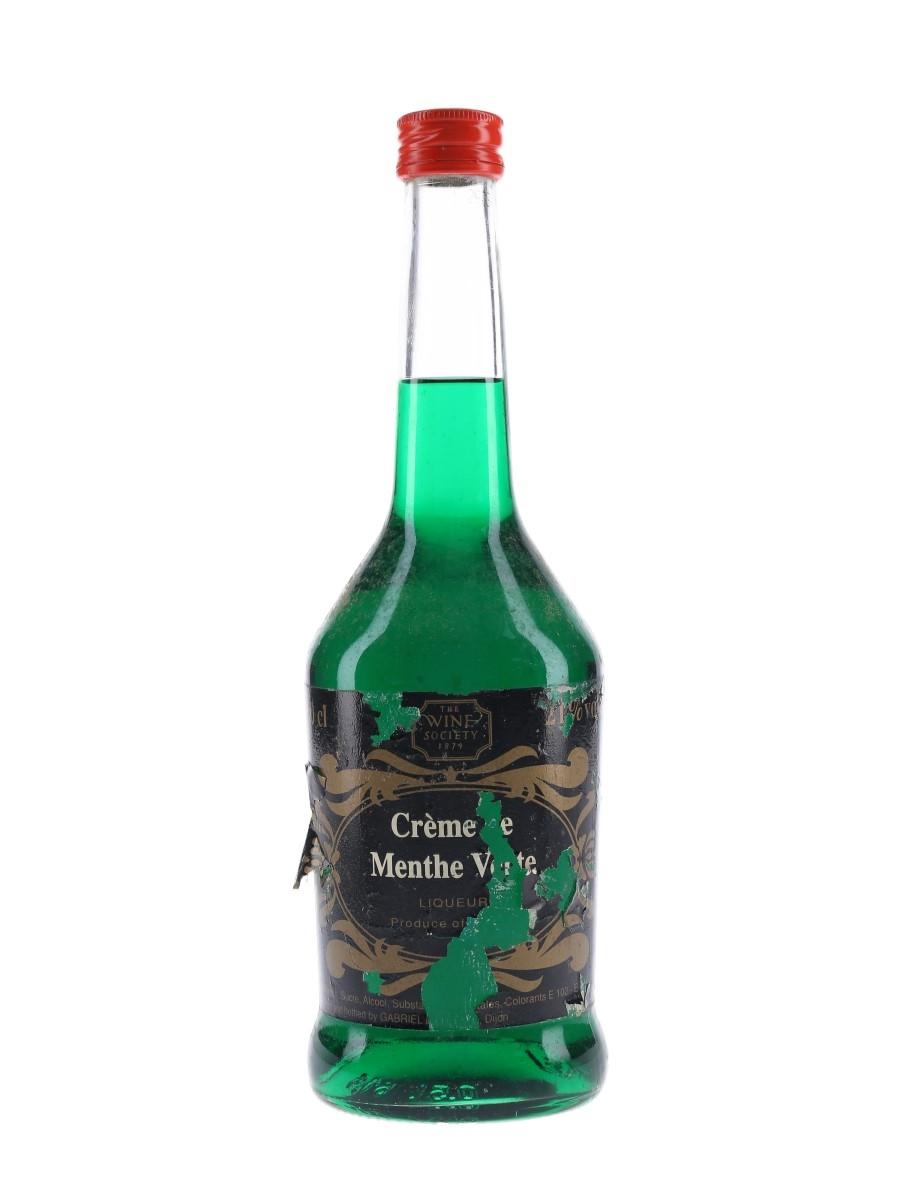 Gabriel Boudier Creme De Menthe The Wine Society 50cl / 21%