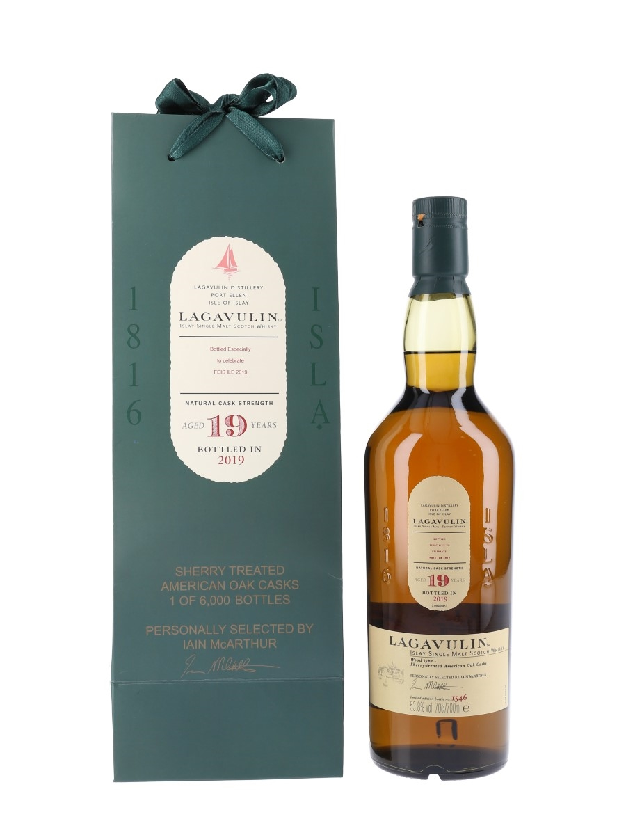 Lagavulin 19 Year Old Distillery Exclusive Feis Ile 2019 70cl / 53.8%