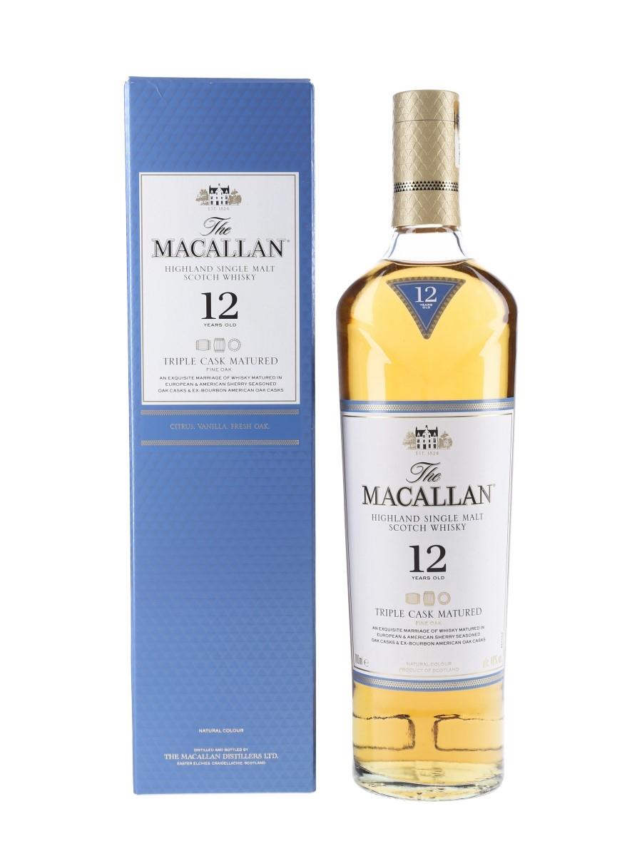 Macallan 12 Year Old Triple Cask Matured 70cl / 40%