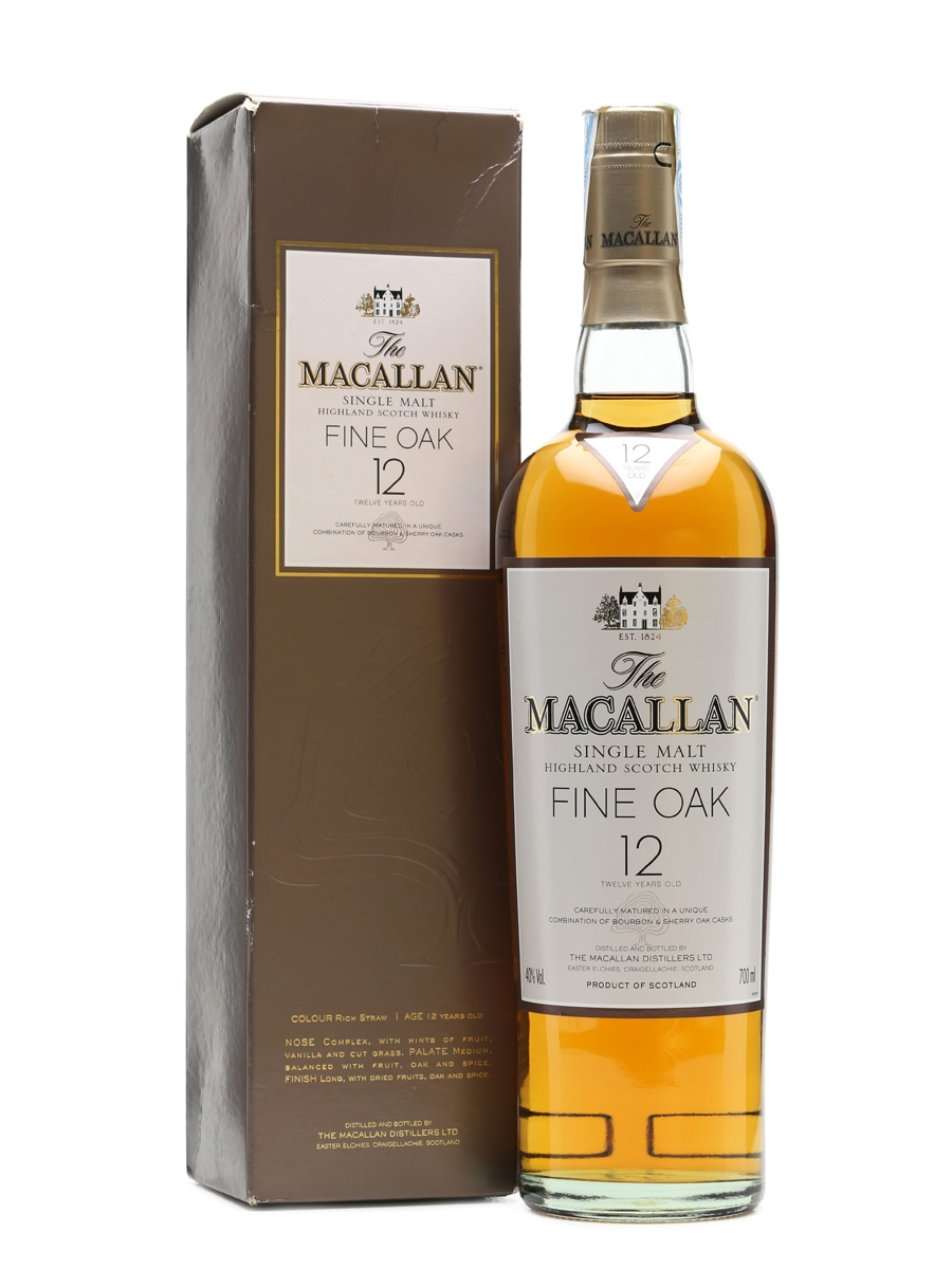 Macallan 12 Years Old Fine Oak 70cl / 40%