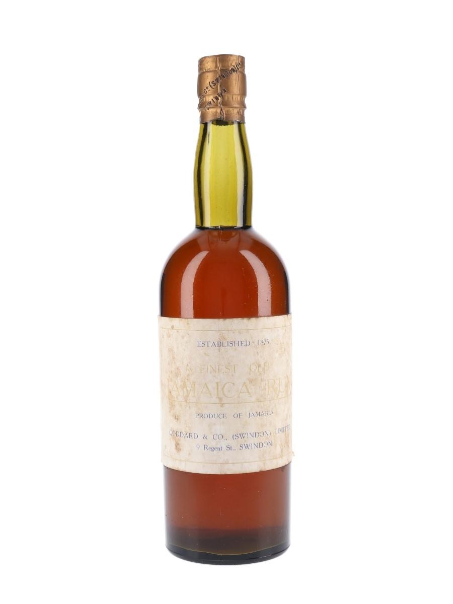 Goddard & Co. Finest Old Jamaica Rum Bottled 1940s-1950s 75cl