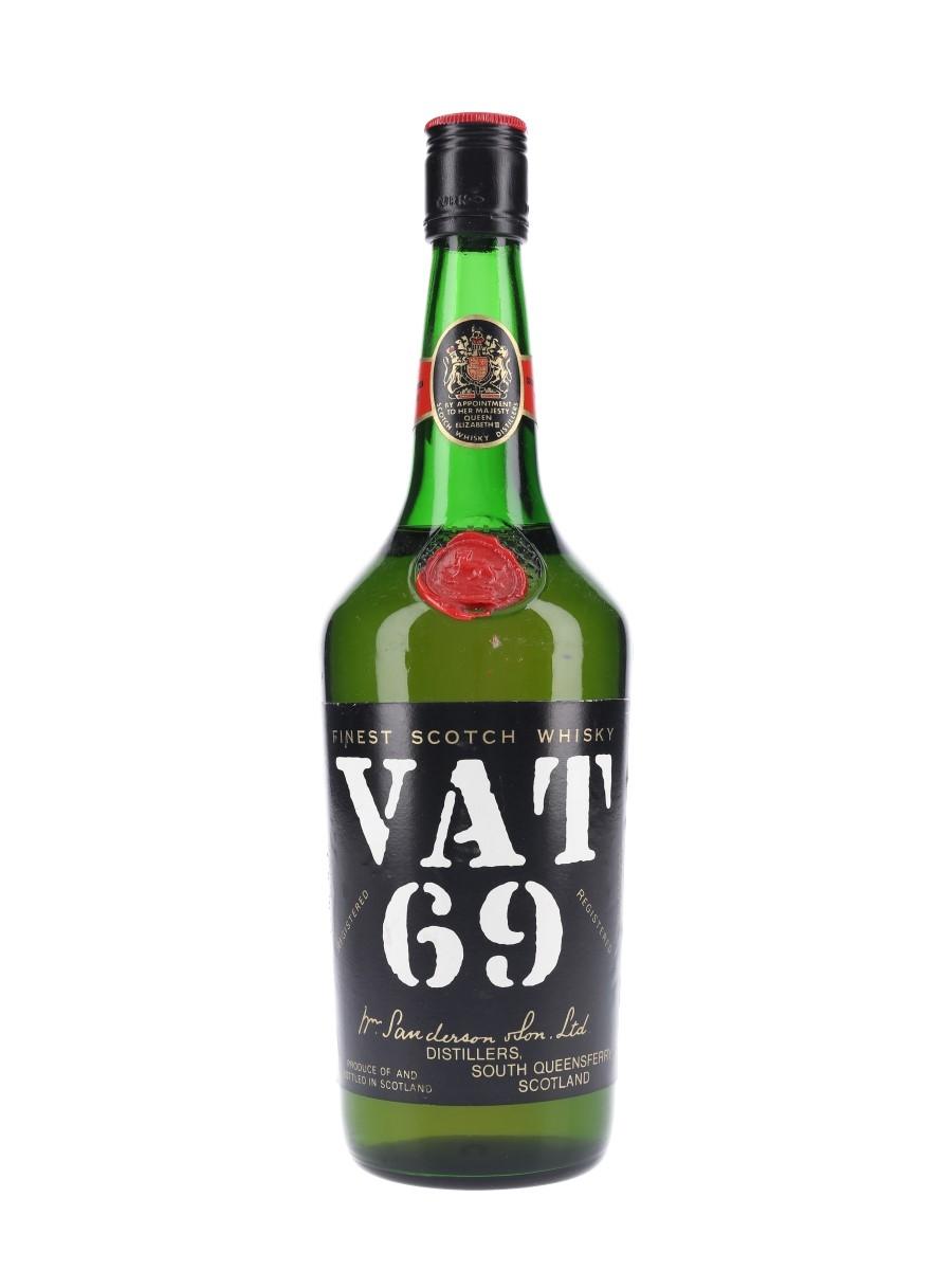 Vat 69 Bottled 1970s 75.7cl / 40%