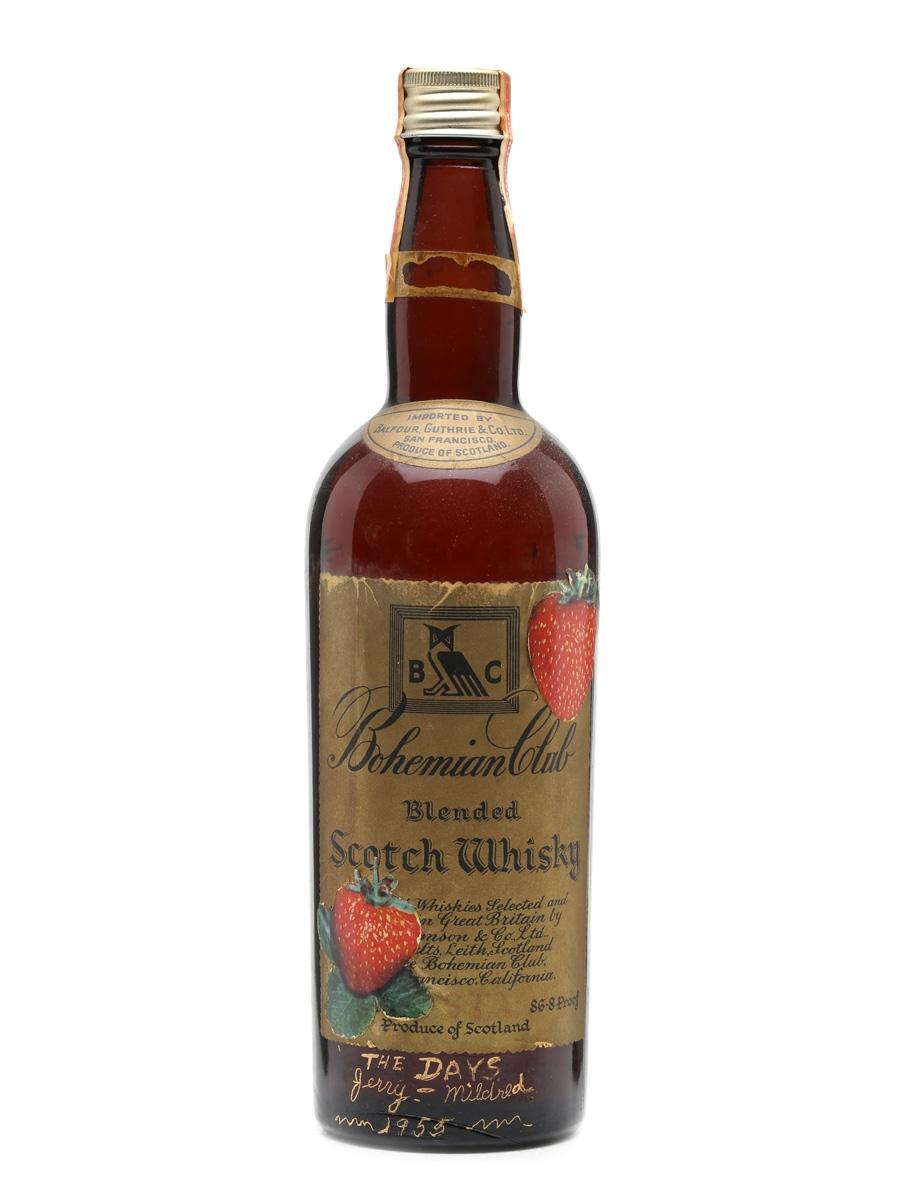 Bohemian Club Bottled 1940s 75cl / 43.4%
