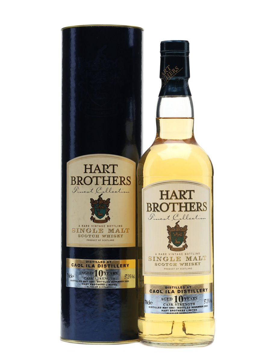 Caol Ila 1993 10 Year Old Bottled 2003 - Hart Brothers 70cl