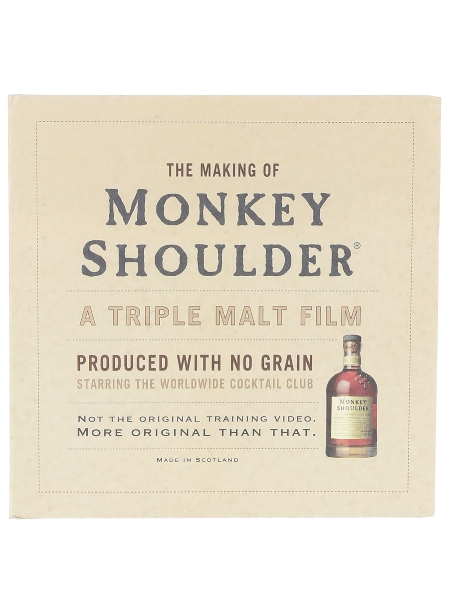 The Making Of Monkey Shoulder A Triple Malt Film - DVD