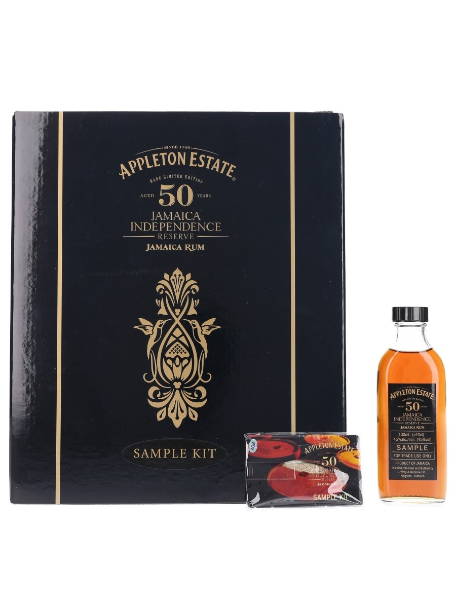 Appleton Estate 50 Year Old Jamaica Independence Reserve Bottled 2012 - Trade Sample 10cl / 45%