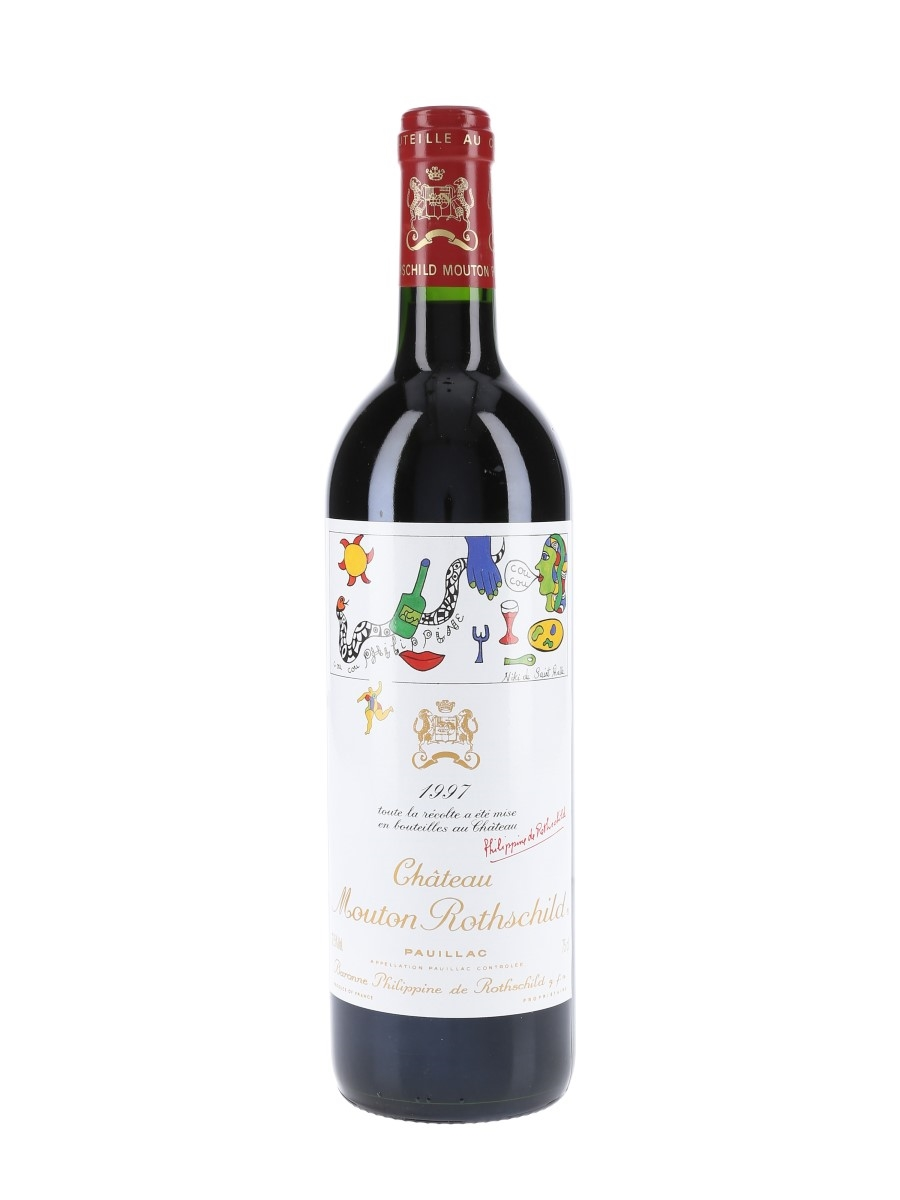 Chateau Mouton Rothschild 1997 Premier Grand Cru Classe - Pauillac 75cl / 12.5%