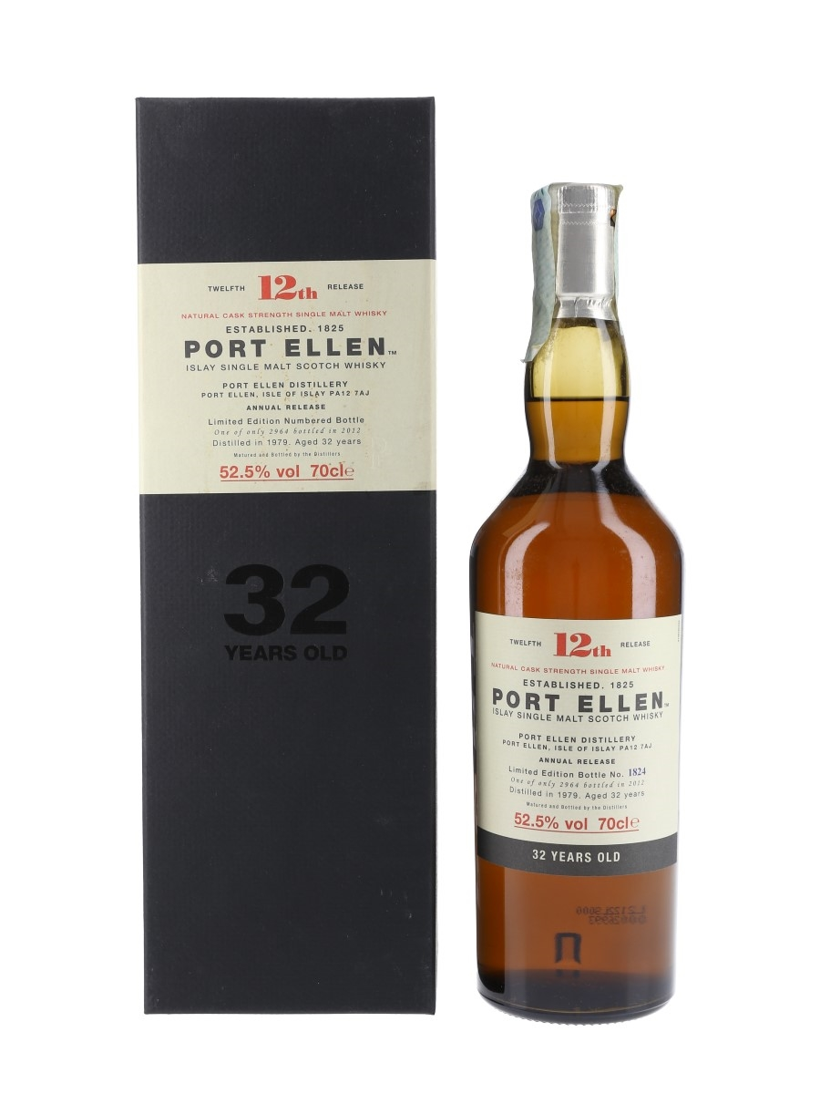 Port Ellen 1979 32 Year Old Special Releases 2012 - 12th Release 70cl / 52.5%