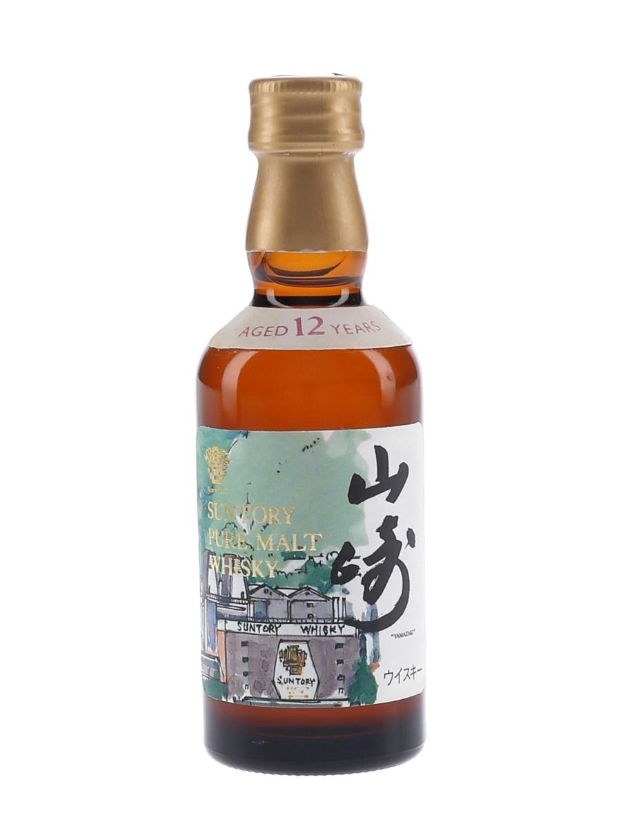 Yamazaki 12 Year Old Distillery Label Bottled 1990s 5cl / 43%