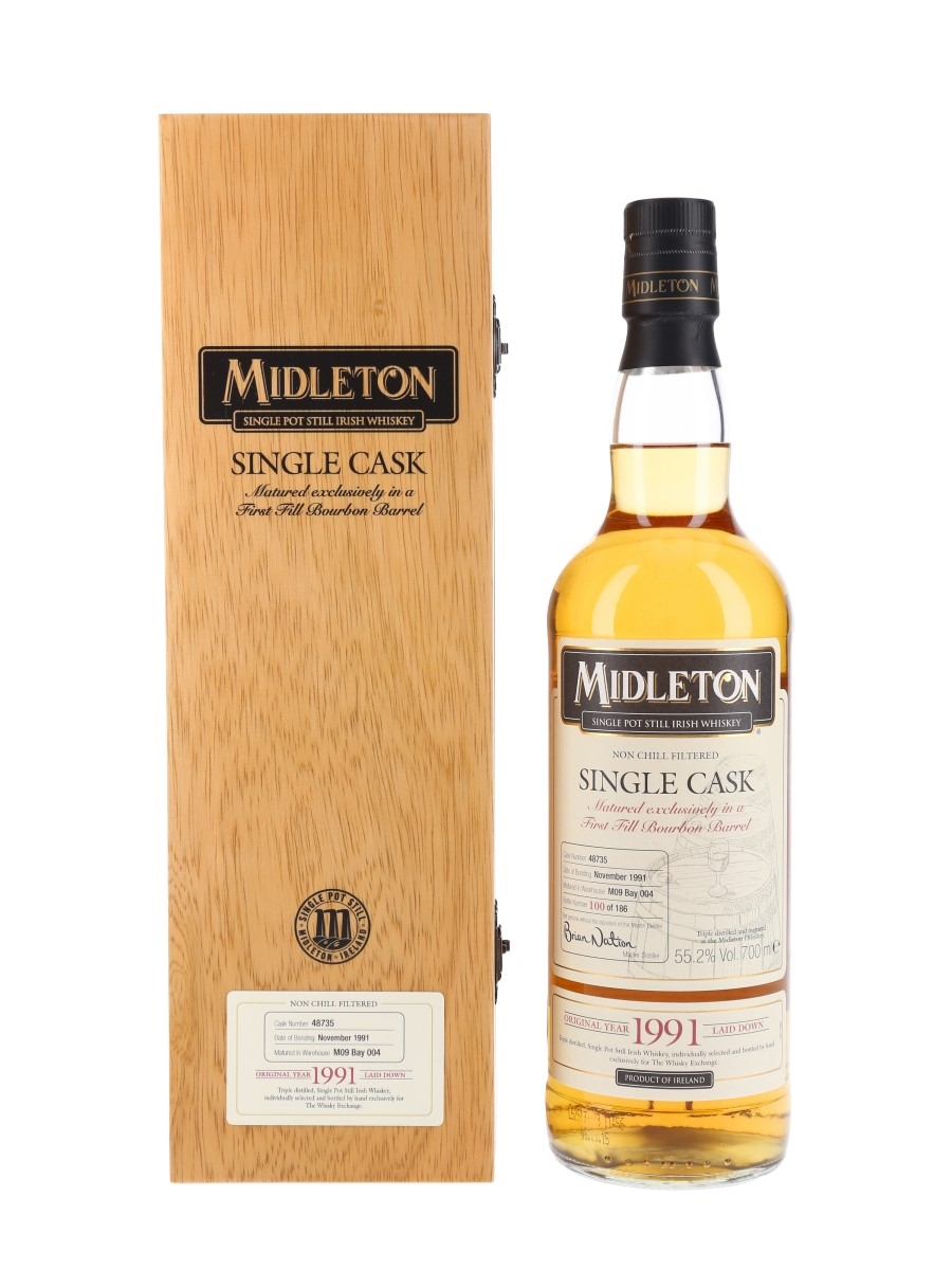 Midleton 1991 Single Cask The Whisky Exchange 70cl / 55.2%