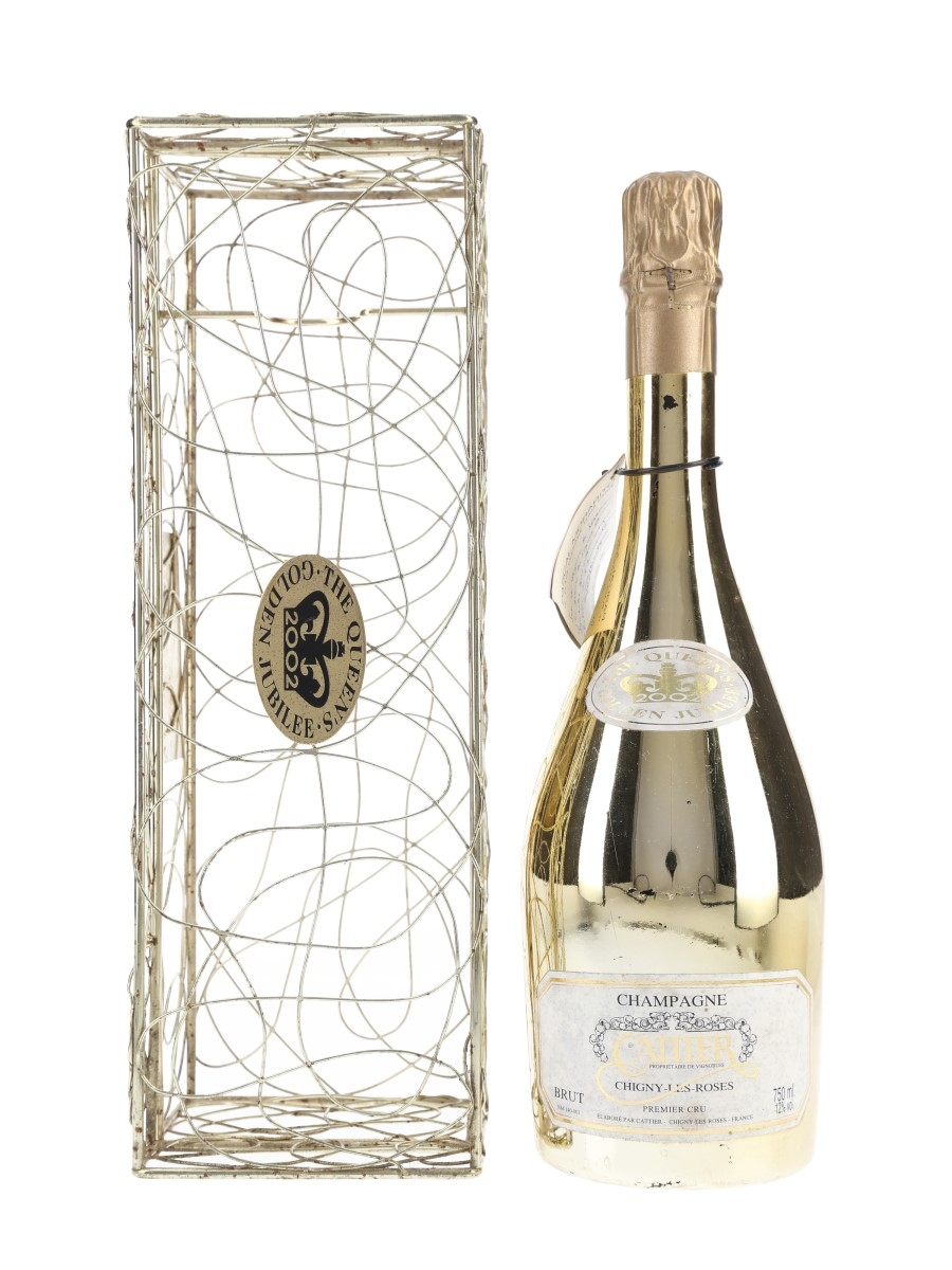 Cattier Chigny Les Roses Champagne Queen's Golden Jubilee 2002 75cl / 12%