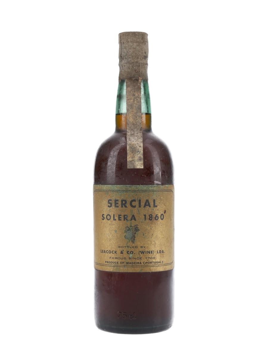 Leacock & Co Solera 1860 Sercial  75cl