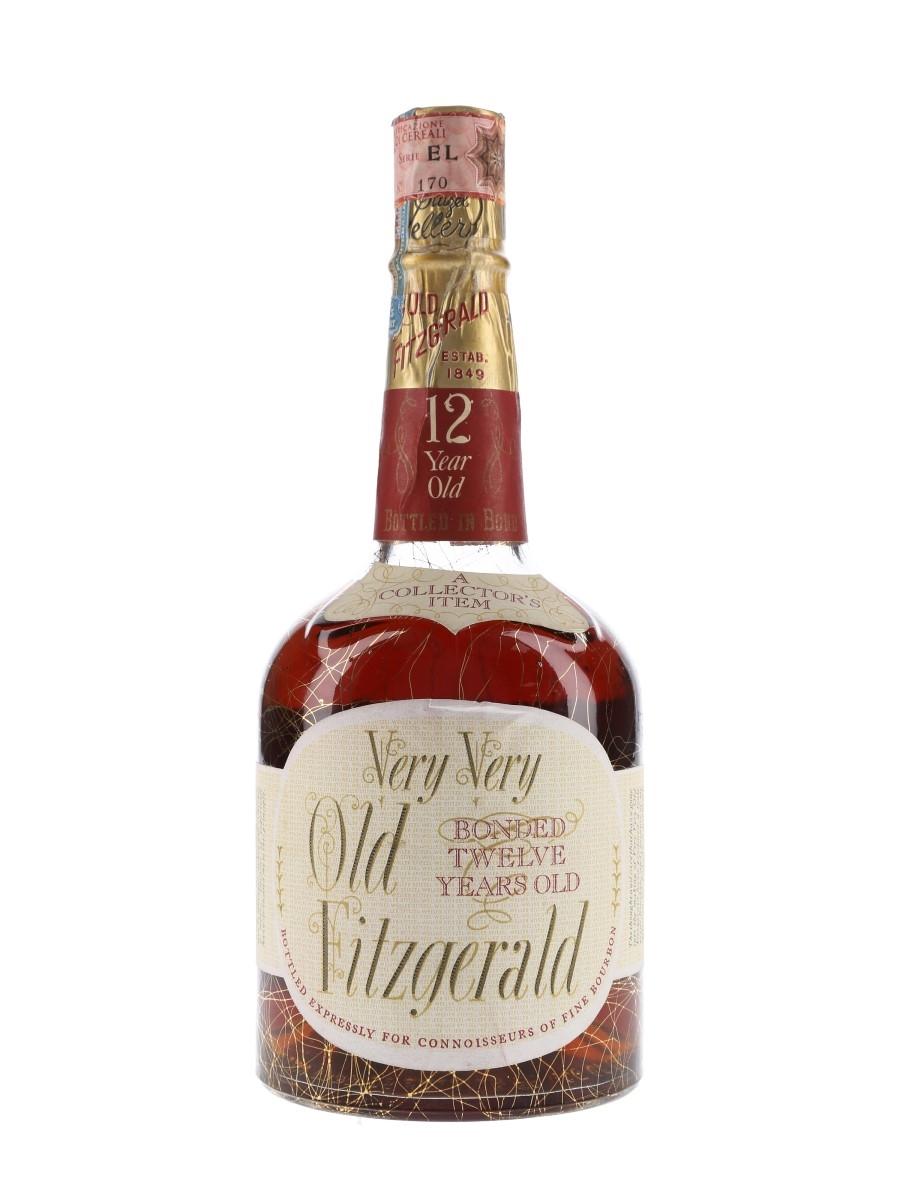 Very Very Old Fitzgerald 12 Year Old Barreled 1955, Bottled 1967 - Stitzel Weller 75cl / 43%