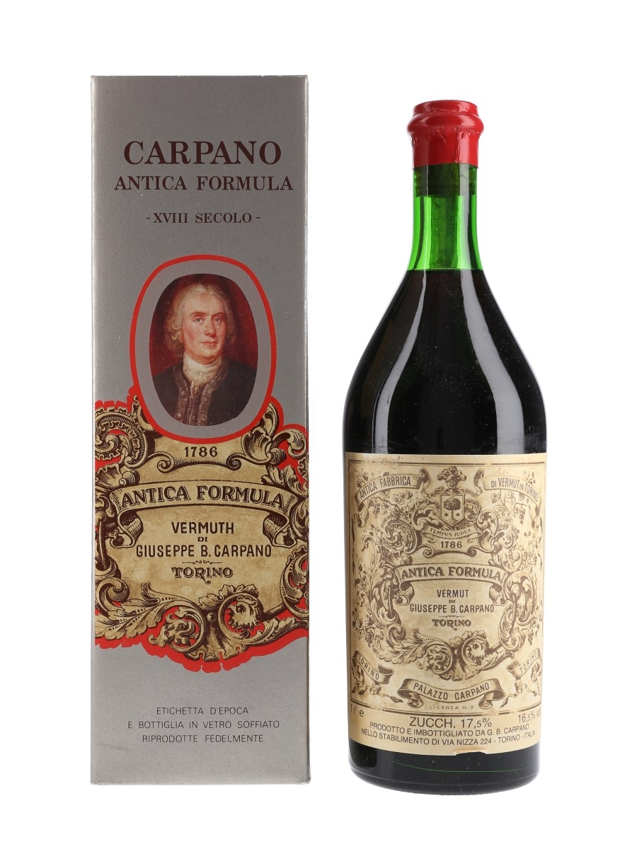 Carpano Antica Formula Vermouth Bottled 1970s 100cl / 16.5%