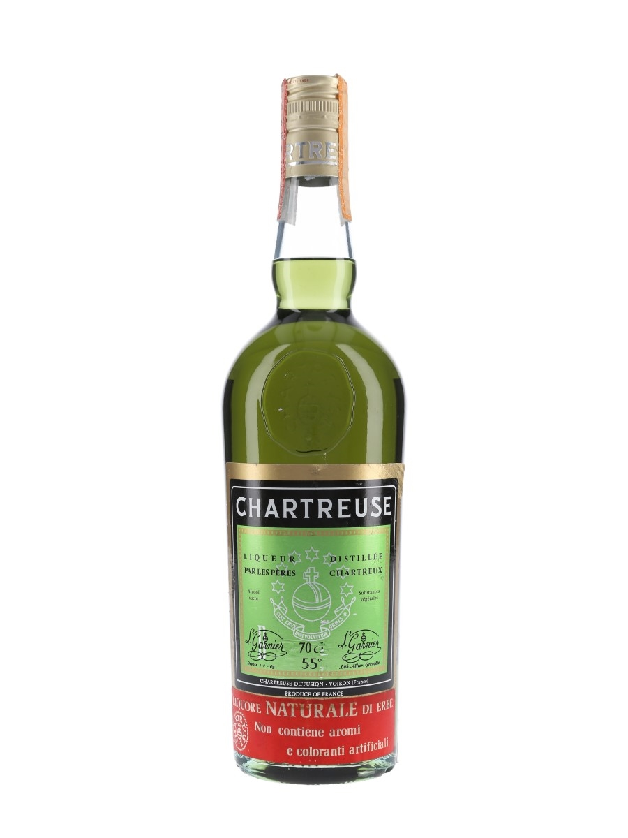 Chartreuse Green Bottled 1975-1982 - Soffiantino 70cl / 55%