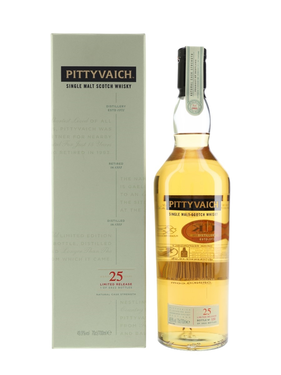 Pittyvaich 1989 25 Year Old - Special Releases 2015 70cl / 49.9%