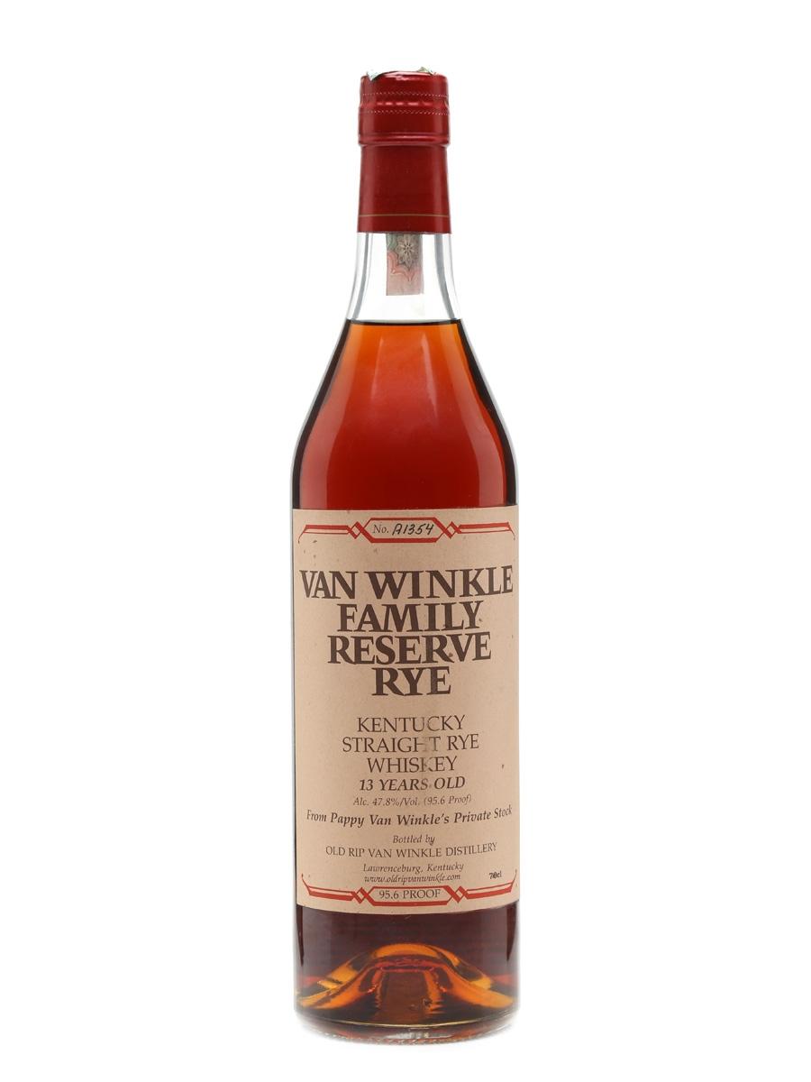 Van Winkle 13 Years Old – Lawrenceburg Family Reserve Rye 70cl / 47.8%