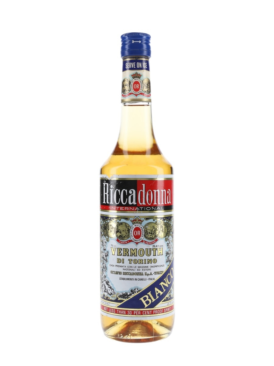 Riccadonna Bianco Vermouth Bottled 1970s 75cl / 17%