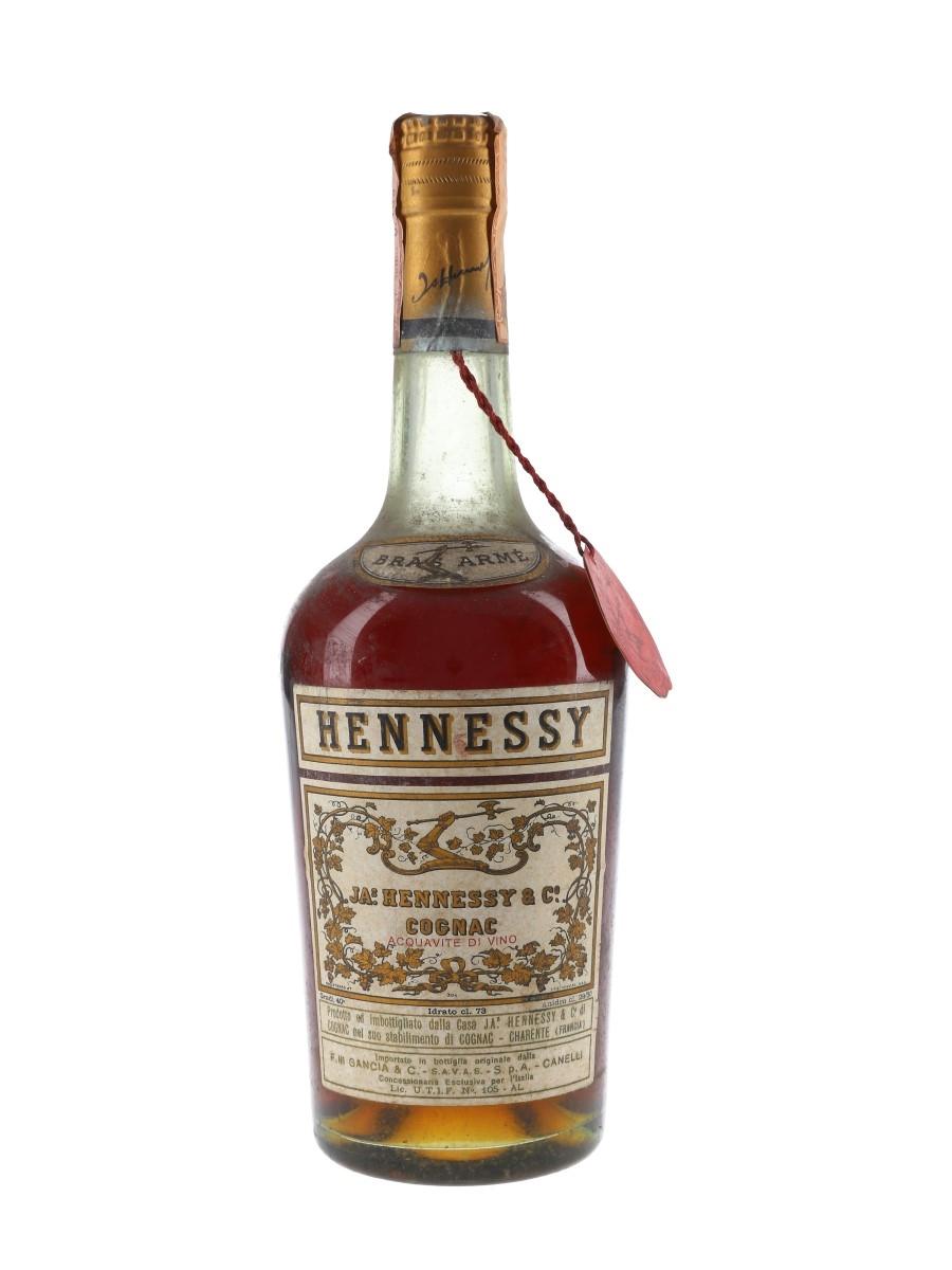 Hennessy Bras Arme Bottled 1960s - Gancia 73cl / 40%