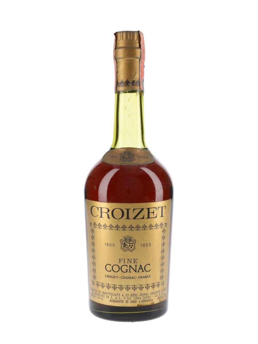 Croizet Fine Cognac Bottled 1960s-1970s 75cl / 40%