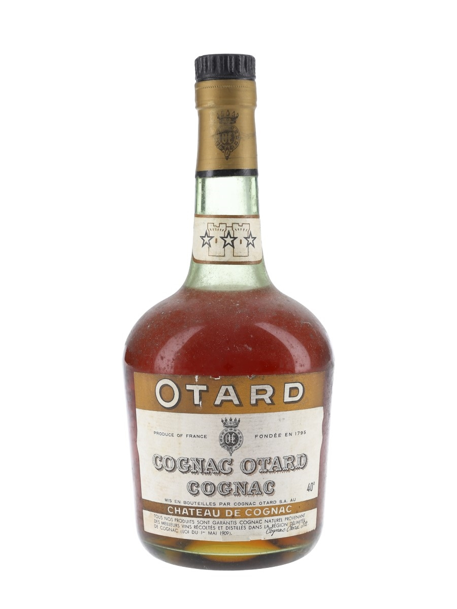 Otard 3 Star Bottled 1960s 75cl / 40%