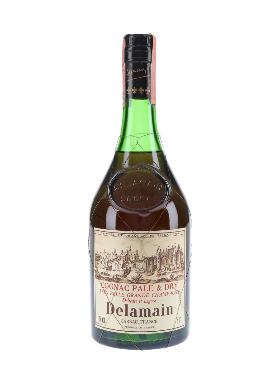 Delamain Pale & Dry Bottled 1970s-1980s 70cl / 40%