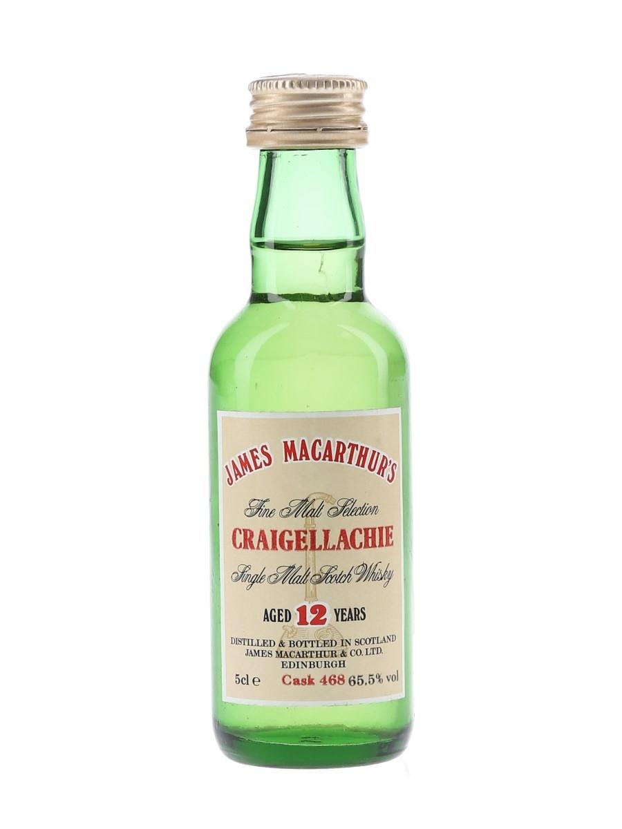 Craigellachie 12 Year Old James MacArthur's 5cl / 65.5%