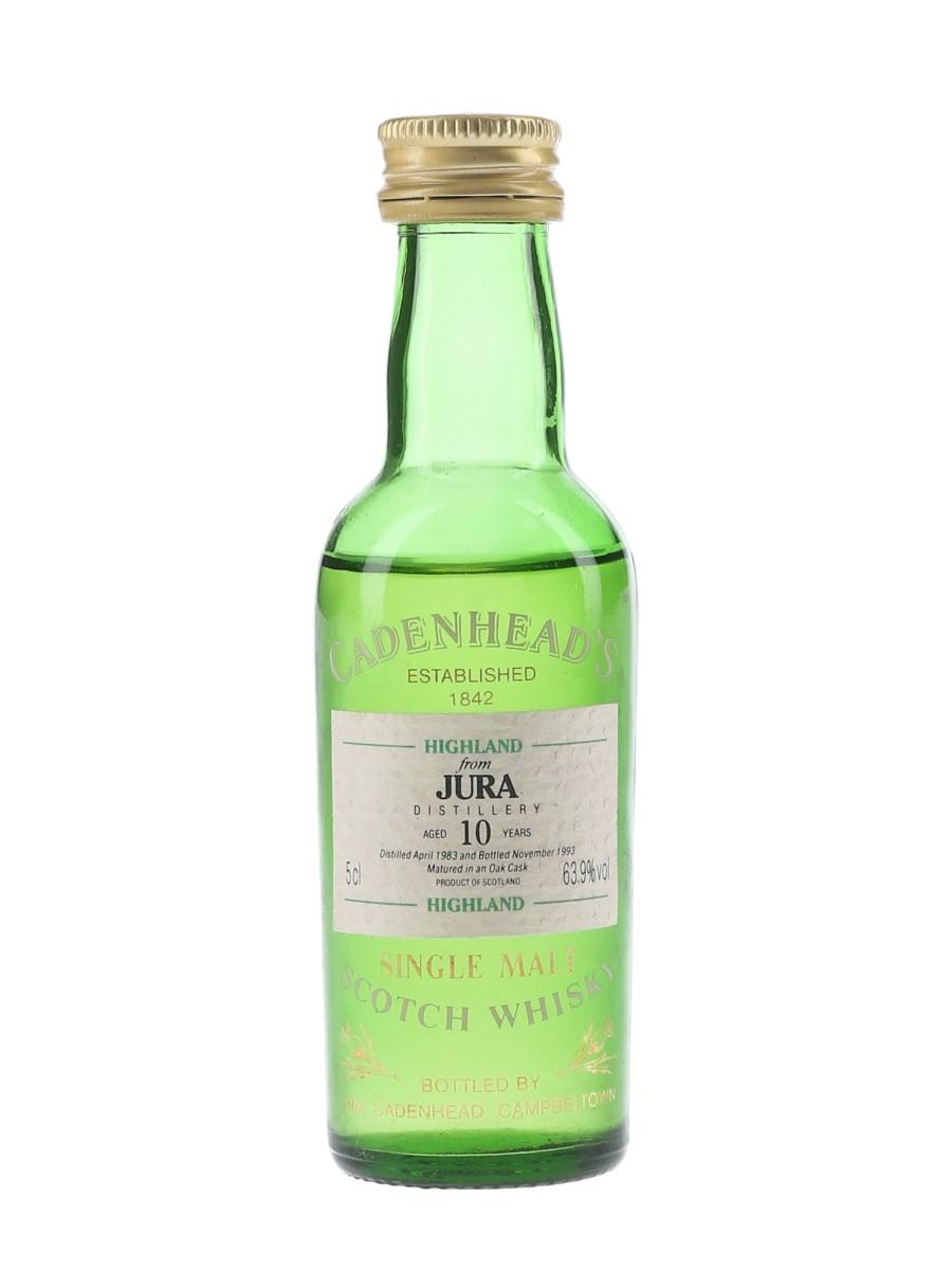 Jura 1983 10 Year Old - Cadenhead's 5cl / 63.9%