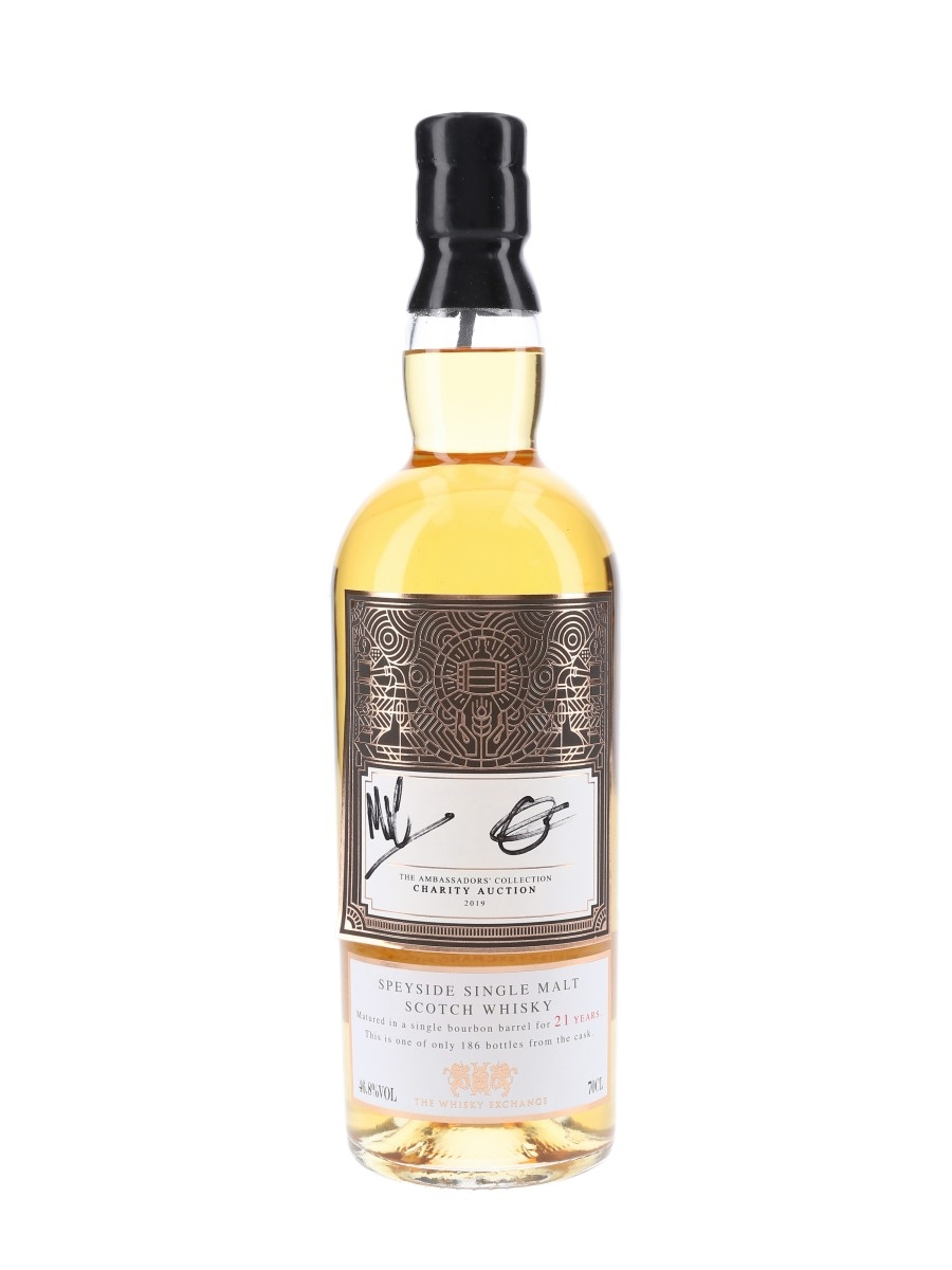 Imperial 21 Year Old The Ambassadors Collection 2019 - Signed Bottle 70cl / 46.8%