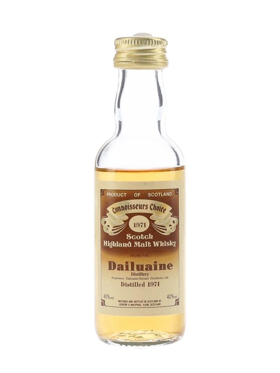 Dailuaine 1971 Bottled 1980s - Connoisseurs Choice 5cl / 40%