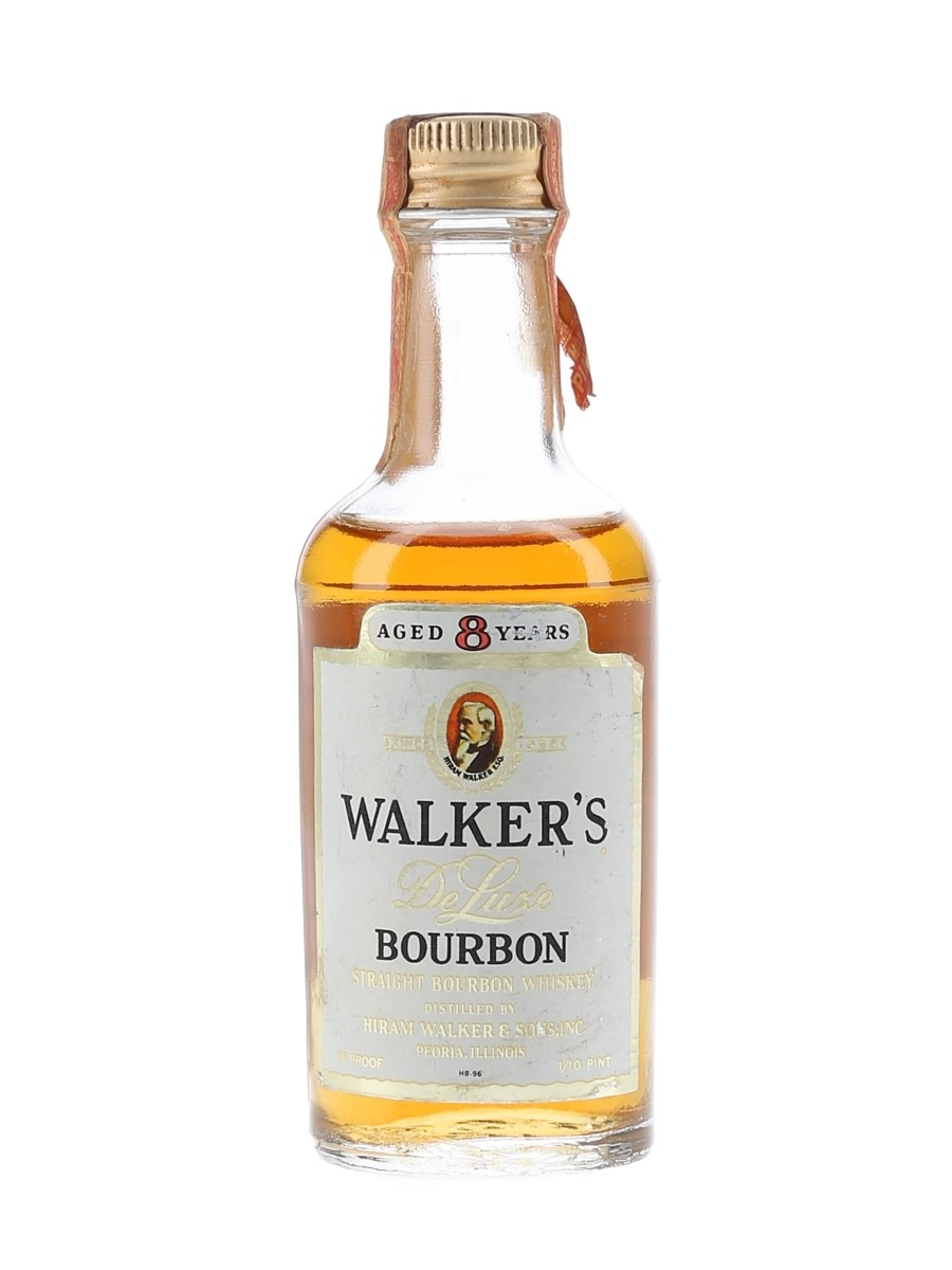Walker's 8 Year Old Bottled 1970s - Trans International Airlines 4.7cl / 43%