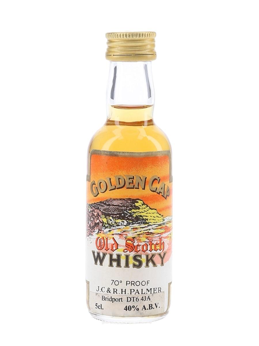 Golden Cap Old Scotch Whisky Bottled 1970s-1980s 5cl / 40%