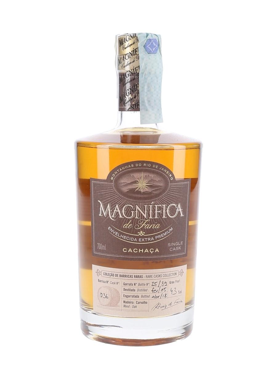 Magnifica De Faria 2005 Cachaca Bottled 2018 - Milano Rum Festival & Casa Mia 70cl / 43%