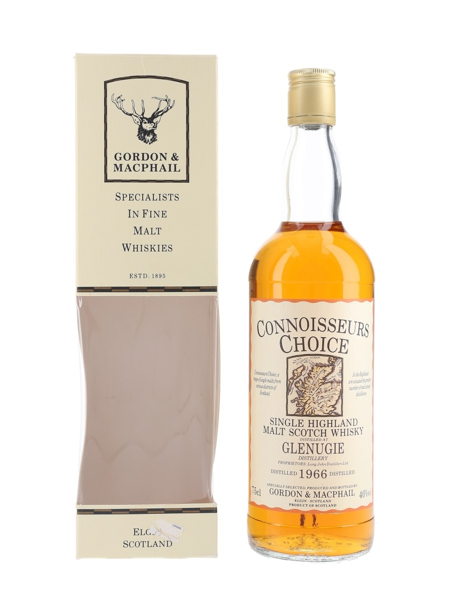 Glenugie 1966 Bottled 1990s - Connoisseurs Choice 75cl / 40%
