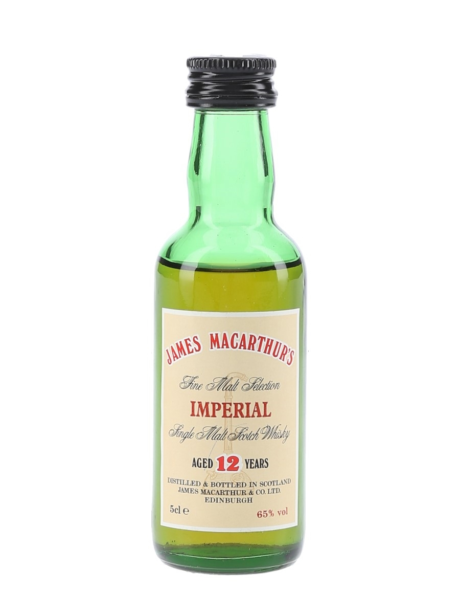 Imperial 12 Year Old James MacArthur's 5cl / 65%