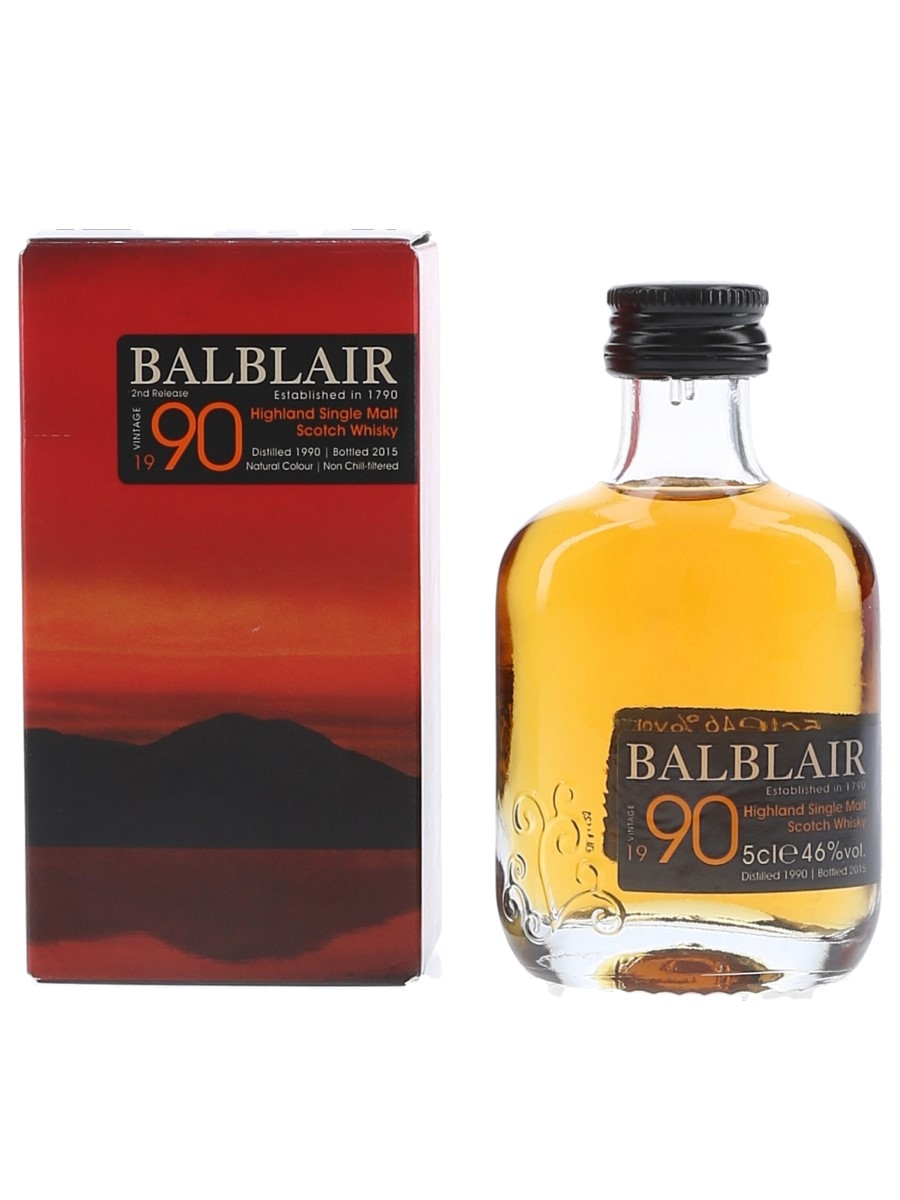 Balblair 1990 Bottled 2015 5cl / 46%