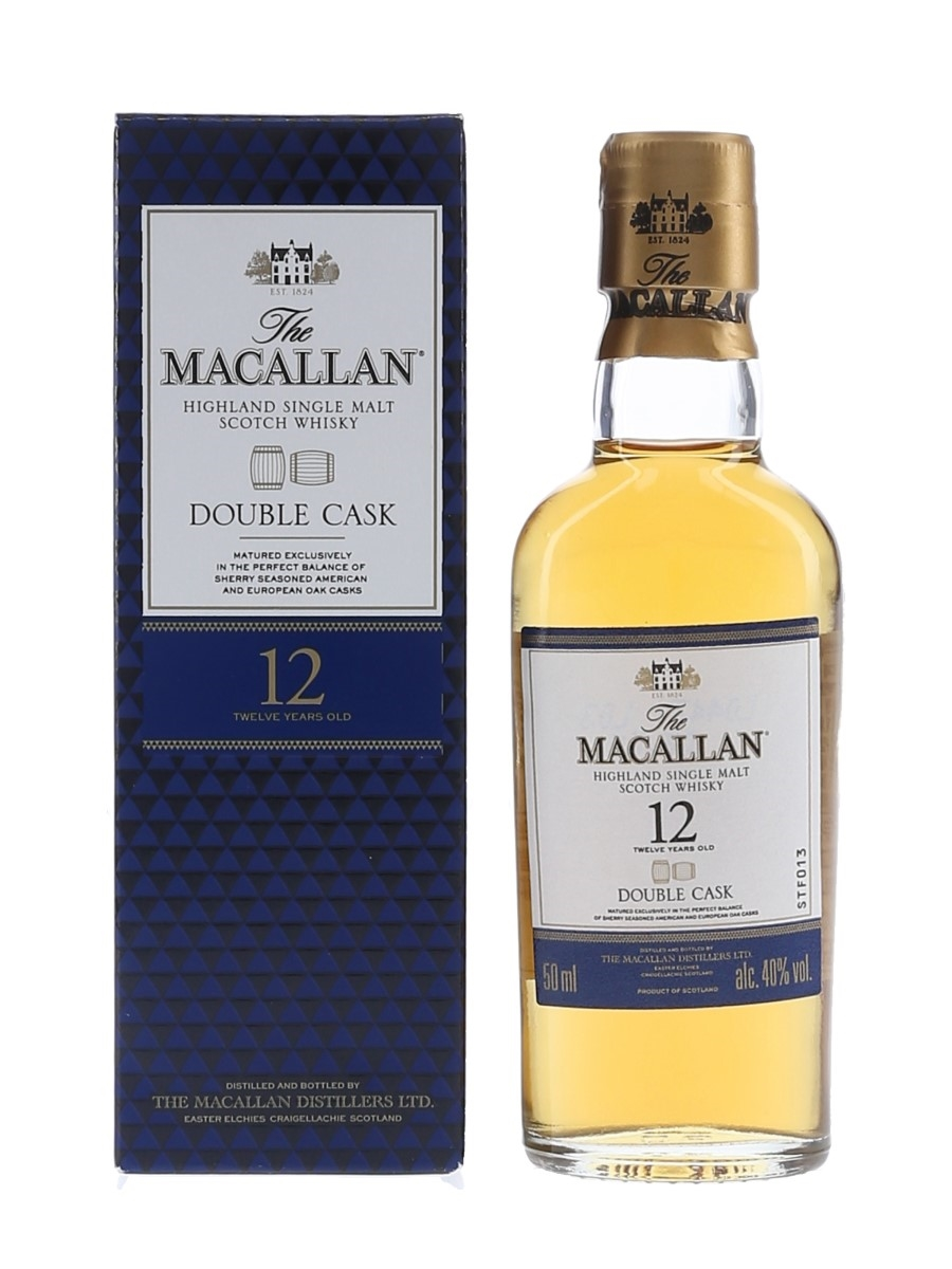 Macallan 12 Year Old Double Cask 5cl / 40%