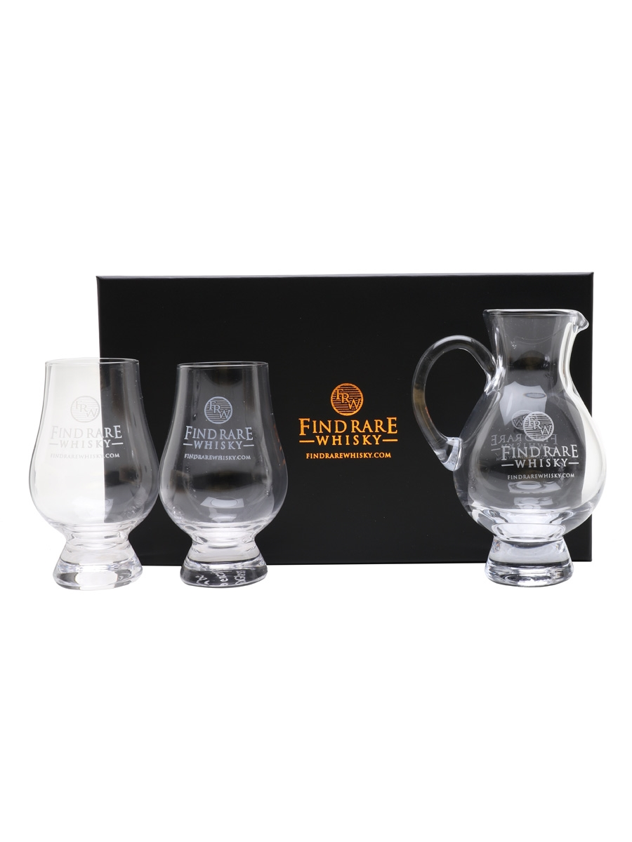 Find Rare Whisky Nosing Glasses & Water Jug