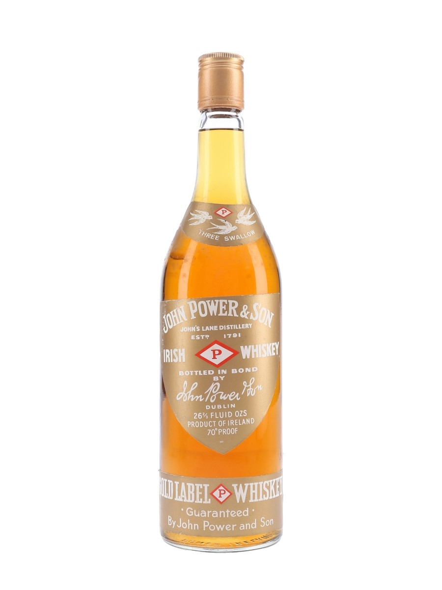 John Power & Son Gold Label Bottled 1970s 75.7cl / 40%