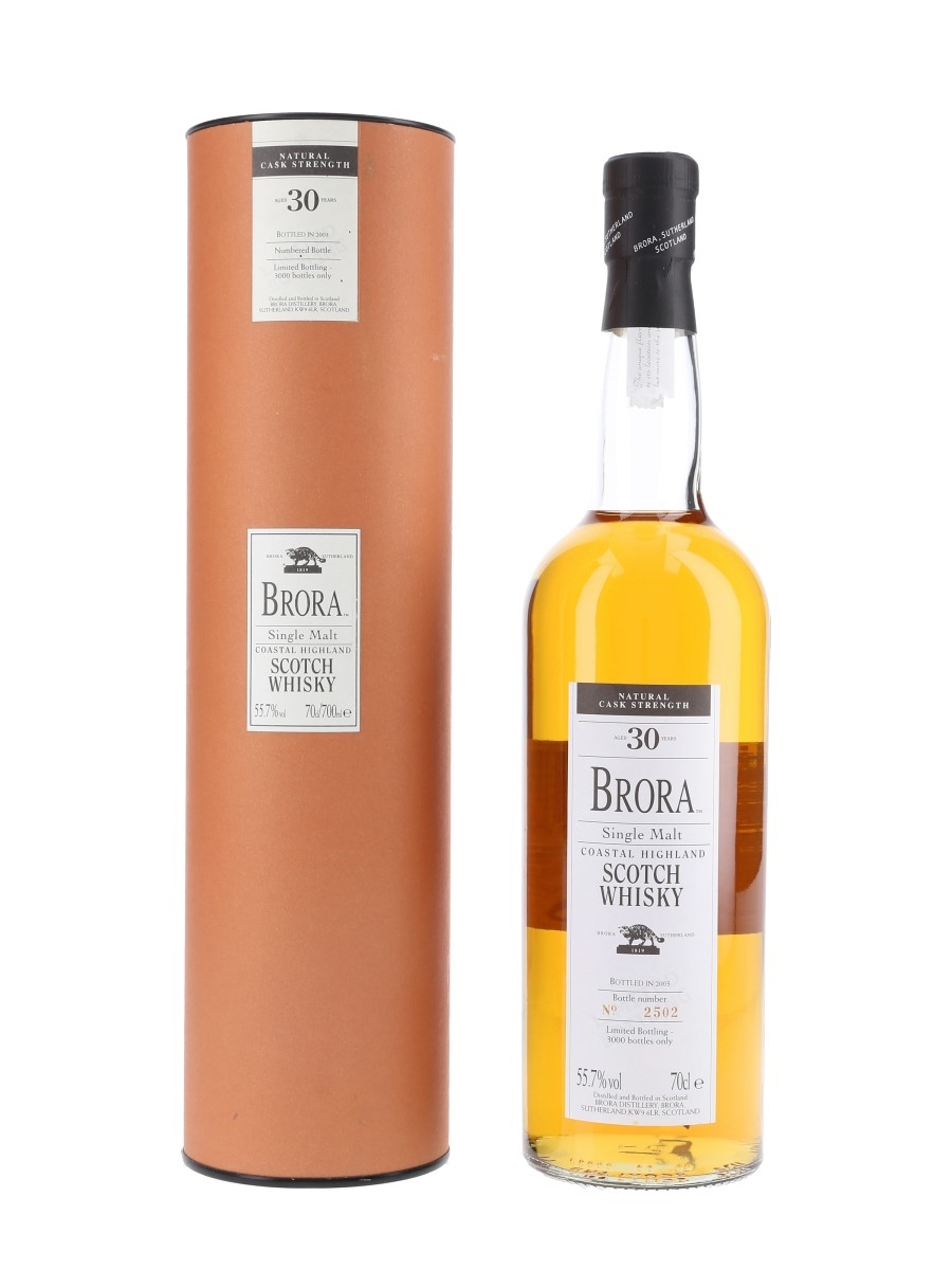 Brora 30 Year Old 2nd Release Special Releases 2003 70cl / 55.7%
