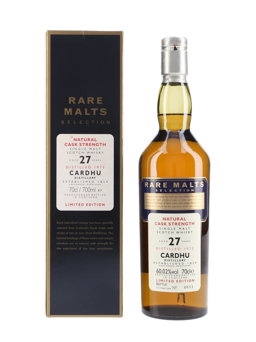 Cardhu 1973 27 Year Old Bottled 2000 - Rare Malts Selection 70cl / 60.02%