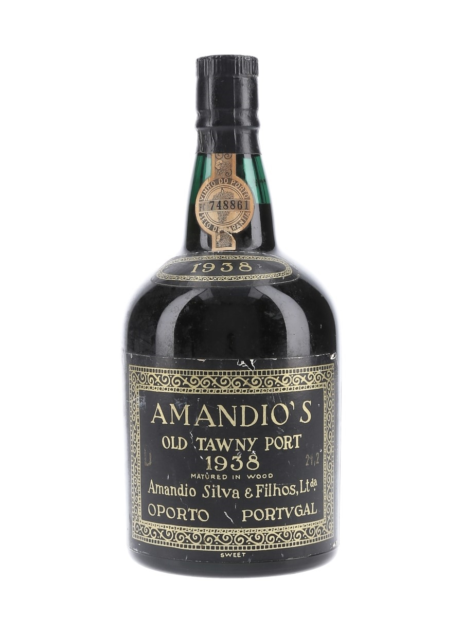 Amandio's 1938 Colheita Port Bottled 1973 75cl / 21.2%