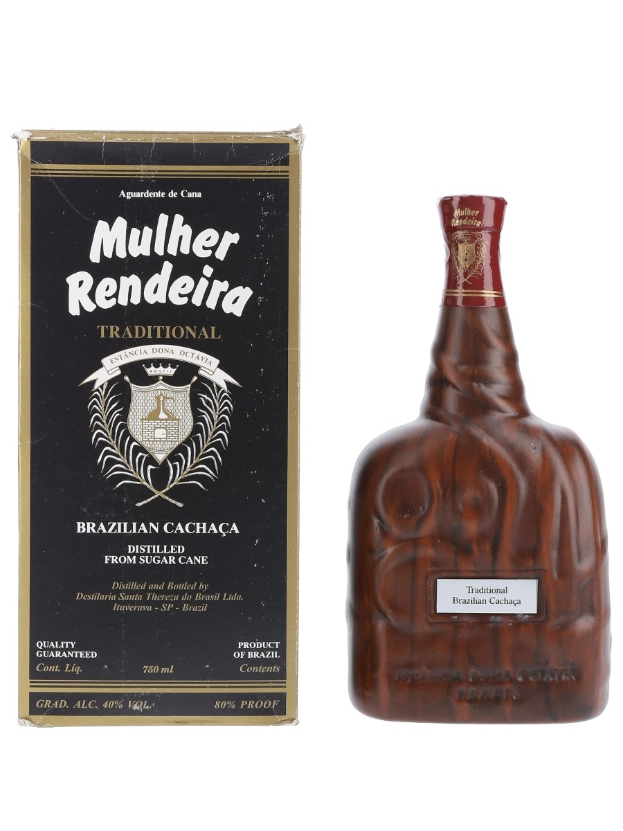 Mulher Rendeira Traditional Cachaca Bottled 1980s 75cl / 40%