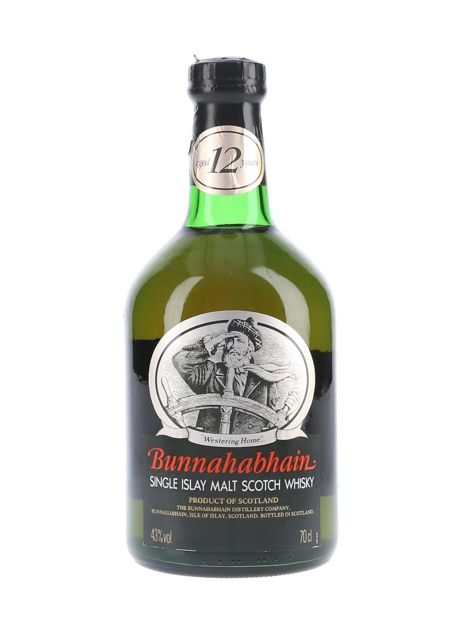 Bunnahabhain 12 Year Old Bottled 1990s 70cl / 43%