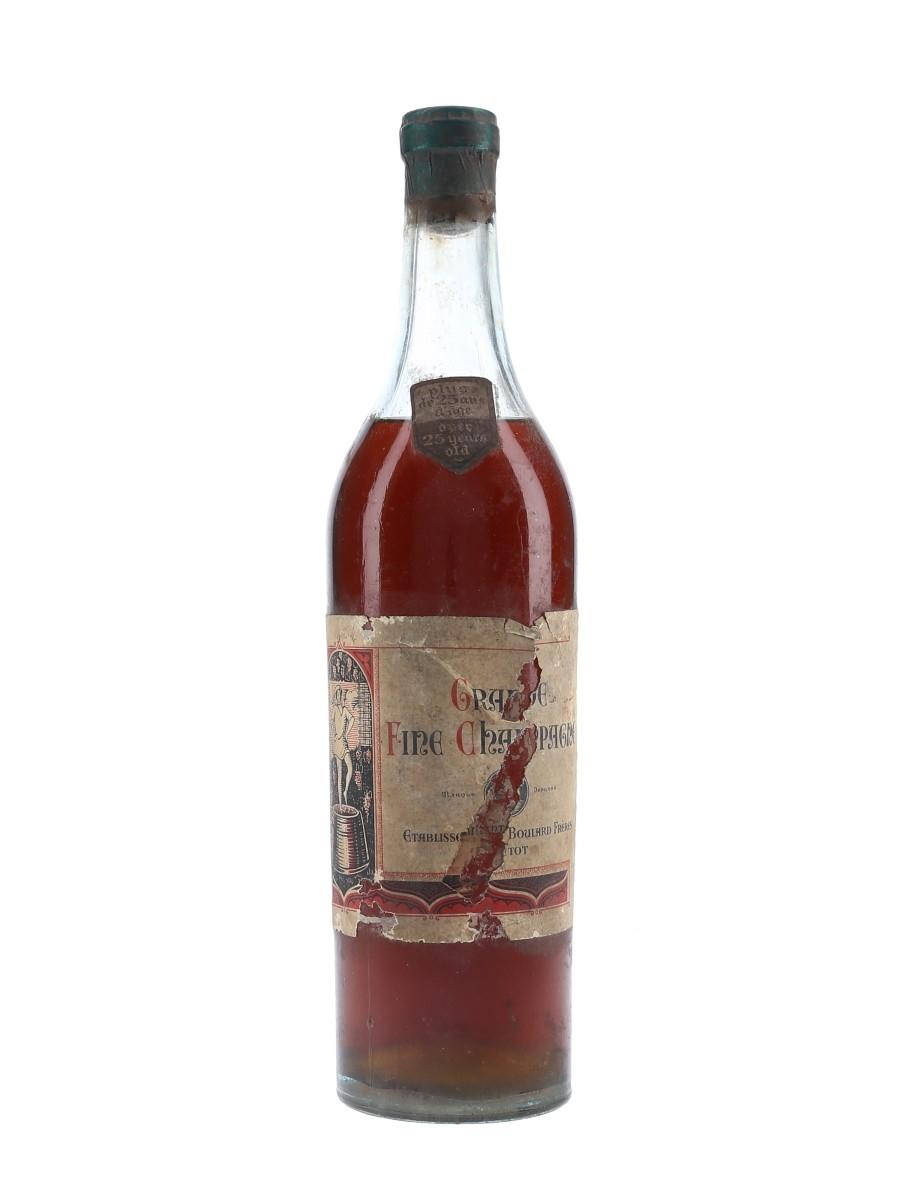 Boulard Fréres 25 Year Old Grande Fine Champagne Bottled 1940s-1950s 72cl