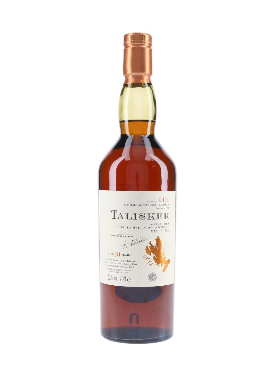 Talisker 1981 Bottled 2002 70cl / 62%