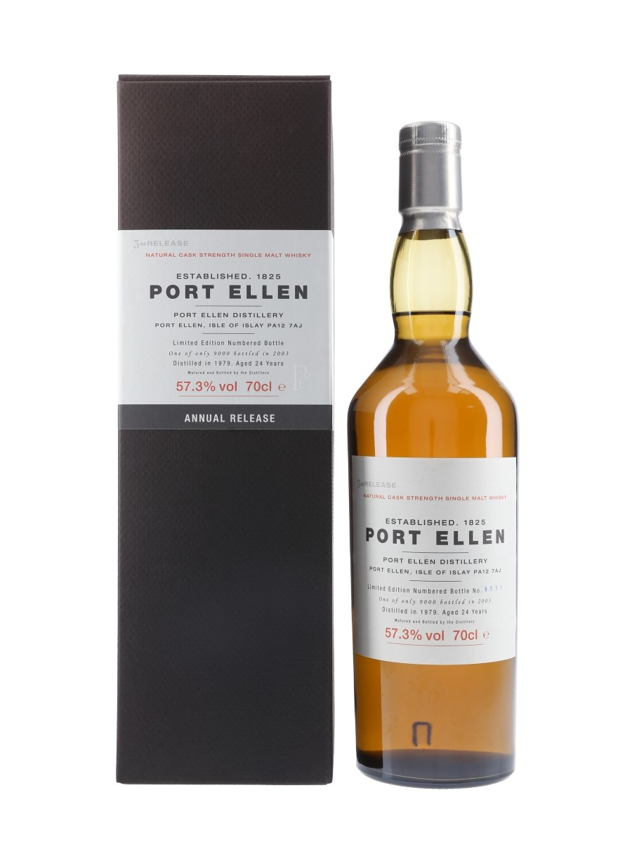 Port Ellen 1979 24 Year Old Special Releases 2003 - 3rd Release 70cl / 57.3%