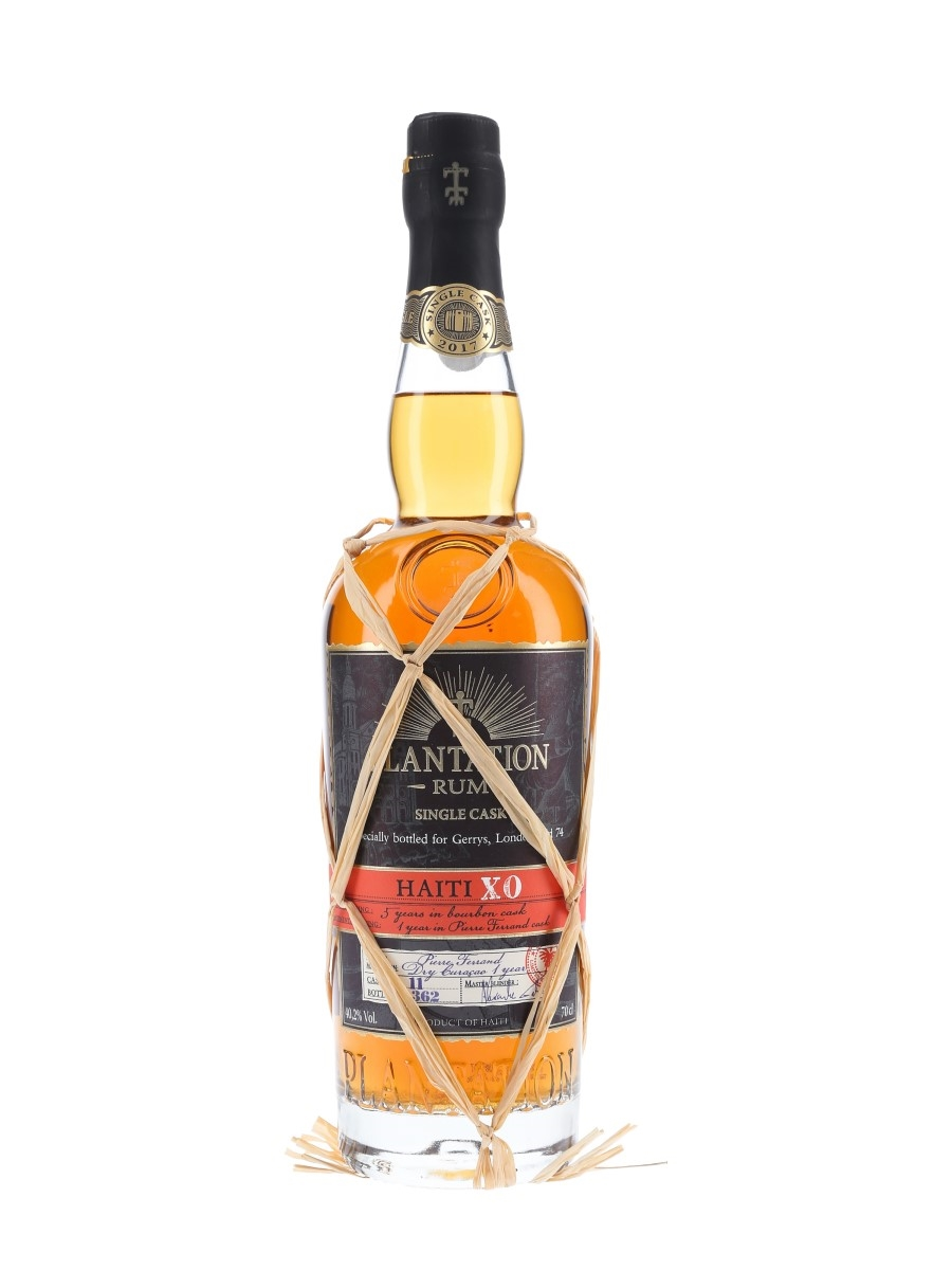 Plantation Haiti XO Rum - Lot 65604 - Whisky.Auction ...