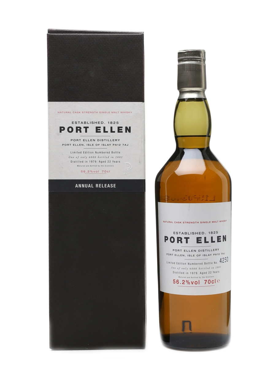 Port Ellen 1979 - 1st Release 22 Years Old 70cl